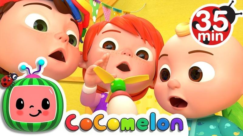 Humpty Dumpty More Nursery Rhymes Kids Songs Cocomelon ABCkidTV