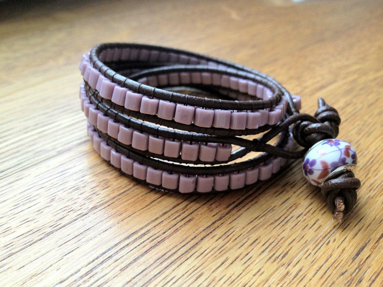 Семь (7) простых и красивых плетёных браслетов Всё самое 75