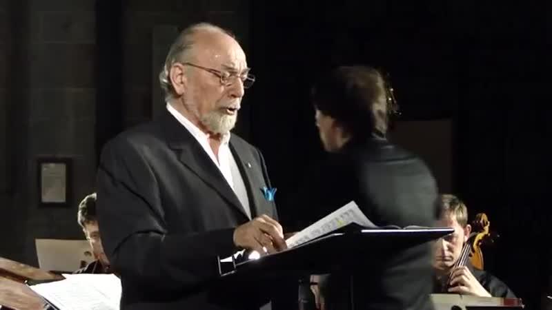 Il baritono Renato Bruson canta Ave verum corpus e Panis Angelicus