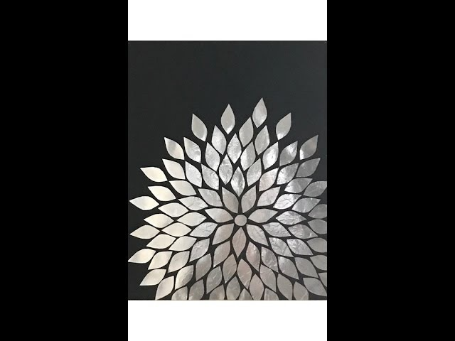 Aluminum Foil DIY Wall Art