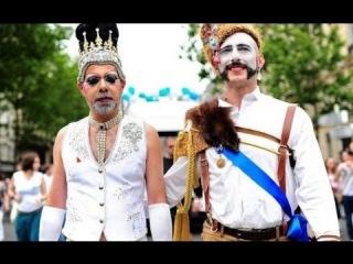 Киев столица содомитов и гоморрейцев. Гей-парад в Киеве это шабаш бесов. Фестиваль ЛГБТ на Украине.