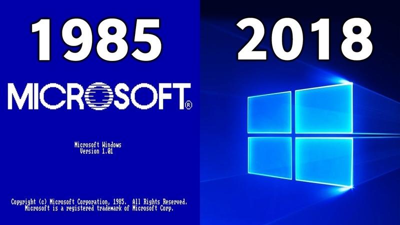 Evolution Of Windows Startup 1985 - 2018 » Freewka.com - Смотреть онлайн в хорощем качестве