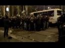 13 марта 2014 Как встретили в Донецке бандеровцев! На колени! 1
