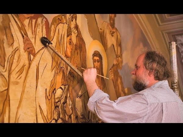 художник-реставратор Игорь Мясников (Москва), часть 1 - интервью
