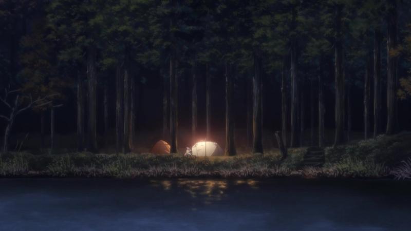 [AniDub] [07] Девчачий кемпинг   Yuru Camp (Oni, Kobayashi, Ket)
