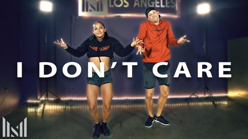 Ed Sheeran Justin Bieber - I DONT CARE Dance | Matt Steffanina Choreography