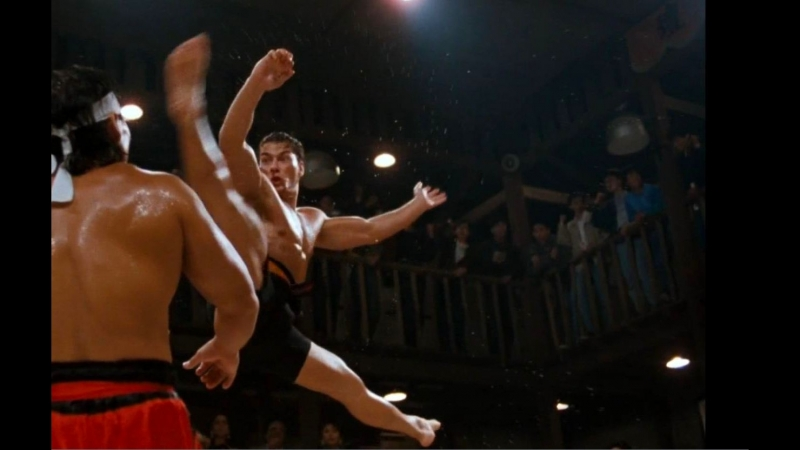The Best Spinning Hook Kick of Van Damme