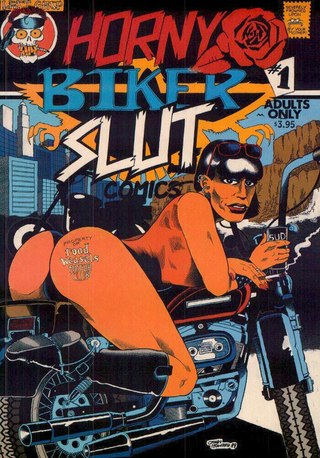 Horny Biker Slut 01