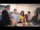 Ланч-бокс баттл каста сериала «Одинокие родители» для портала «Tastemade»
