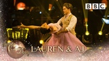 Lauren &amp AJ waltz to 'You Are The Reason' by Calum Scott &amp Leona Lewis- BBC Strictly 2018
