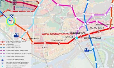 Конкурс на проект линии «Метро Ростова» объявят до конца года