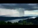 Tsunami from Heaven Amazing Rainstorm Timelapse Downburst Microburst
