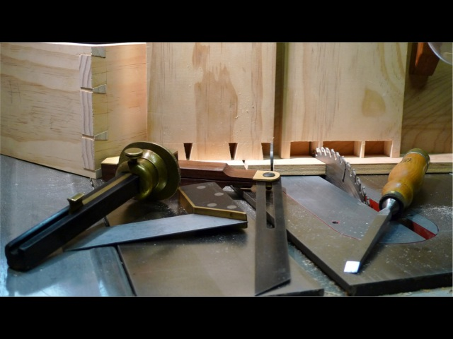 Столярные Хитрости Ласточкин Хвост на Циркулярке How to Cut Dovetails on a Table Saw cnjkzhyst bnhjcnb kfcnjxrby djcn y