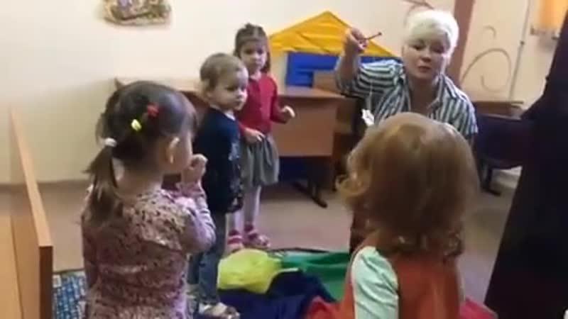 Дыхательная гимнастика в игровой форме с малышами