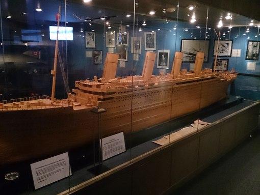 Титаник сделанный из