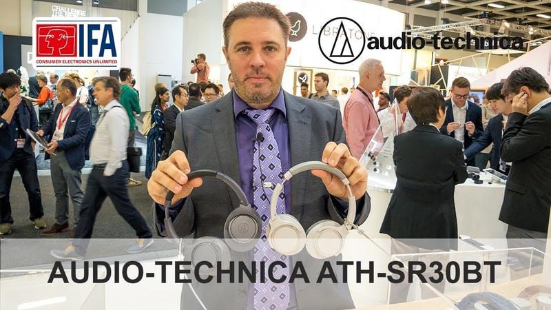 Обзор AUDIO-TECHNICA ATH-SR30BT на IFA 2018 в Берлине