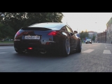 Nissan 350Z dropped on the floor