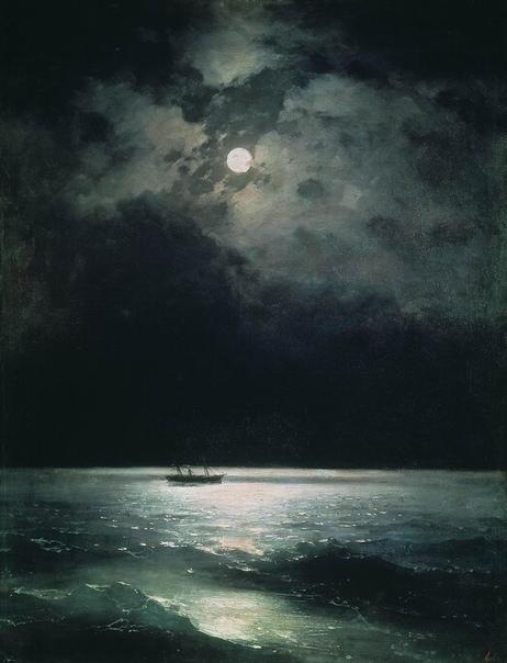 Картина «Черное море ночью» Автор: Иван Айвазовский