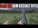 DayZ Standalone New AKM Assualt Rifle Gameplay Range Accuracy Test