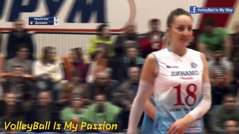 [HD] Uralochka vs vDynamo Moscow   16-11-2018   Russia Volleyball Womens Superliga 2018-2019