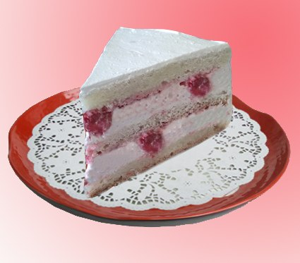 Торт с фруктами и йогуртовым кремом пошаговый рецепт с