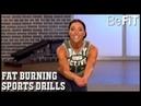 Fat Burning Sports Drills Workout: 10 Min Solution- Cat Chiarelli