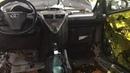 Toyota iQ Айкью шумоизоляция. Несколько слоев сверкающей вибры и мягкой шумки положили ей в салон