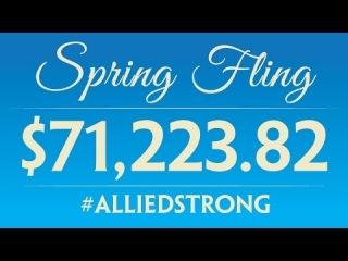 Spring Fling 2016 - $71,223.82 raised for Allied!
