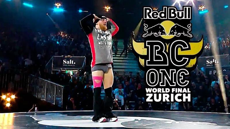 Эпатажный B-Boy Lil kev, начудил на Red Bull BC One 2018
