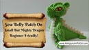 Crochet Along Small But Mighty Dragon Part 4 How To Sew The Belly Patch Body Together