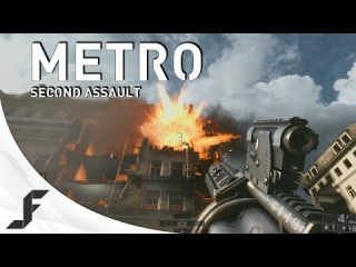 Operation Metro Battlefield 4 Second Assault gameplay - The apocalypse + GOL returns!