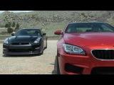 2014 Nissan GT-R vs. BMW M6 0-60 MPH Mile High Mashup Review