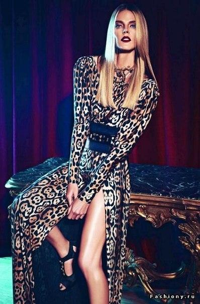Леопардовый принт на одежде для женщин 2014 -2015 гг.