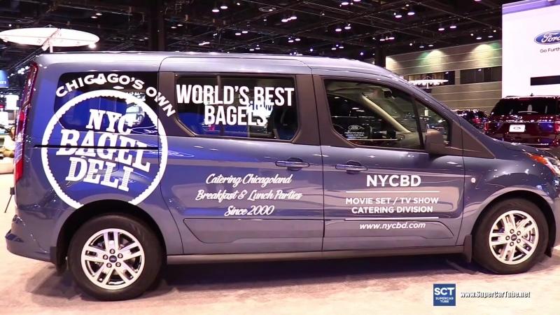 2019 Ford Transit Connect Premium - Exterior Interior Walkaround - Debut 2018 Chicago Auto Show