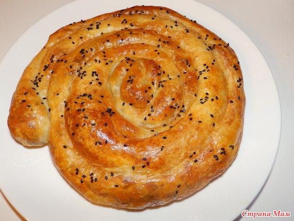 Борек с мясом рецепт с фото