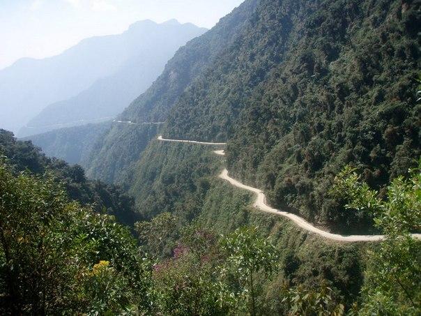 Дорога смерти в Боливии. Захватывает дух – примерно...