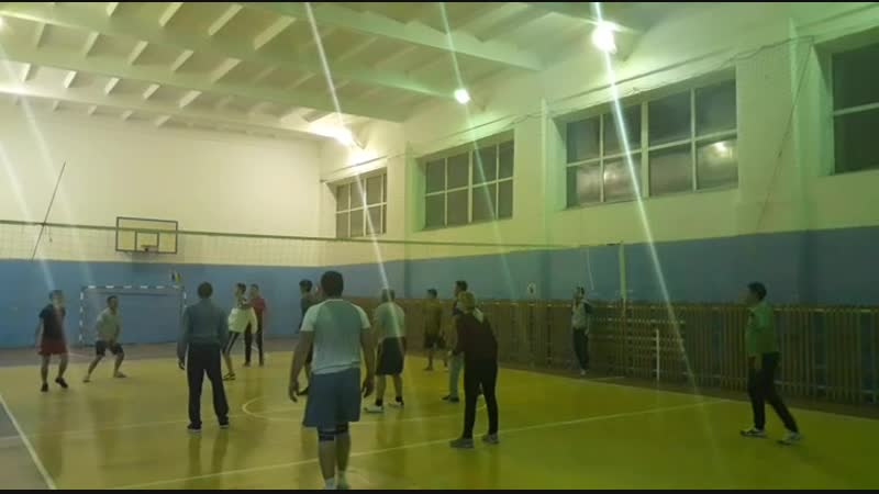 Вечерний волейбол 1