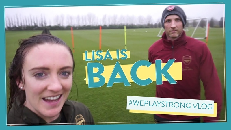 LISA is back on the pitch after FOUR weeks out! WePlayStrong