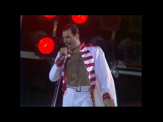 Queen - We Will Rock You (на стадионе Уэмбли 11.07.1986) - слушать онлайн бесплатно...