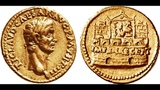 Аурей, 43 - 44 гг., Монета Клавдия, Римская Империя, Aurey, 43 AD - 44 AD