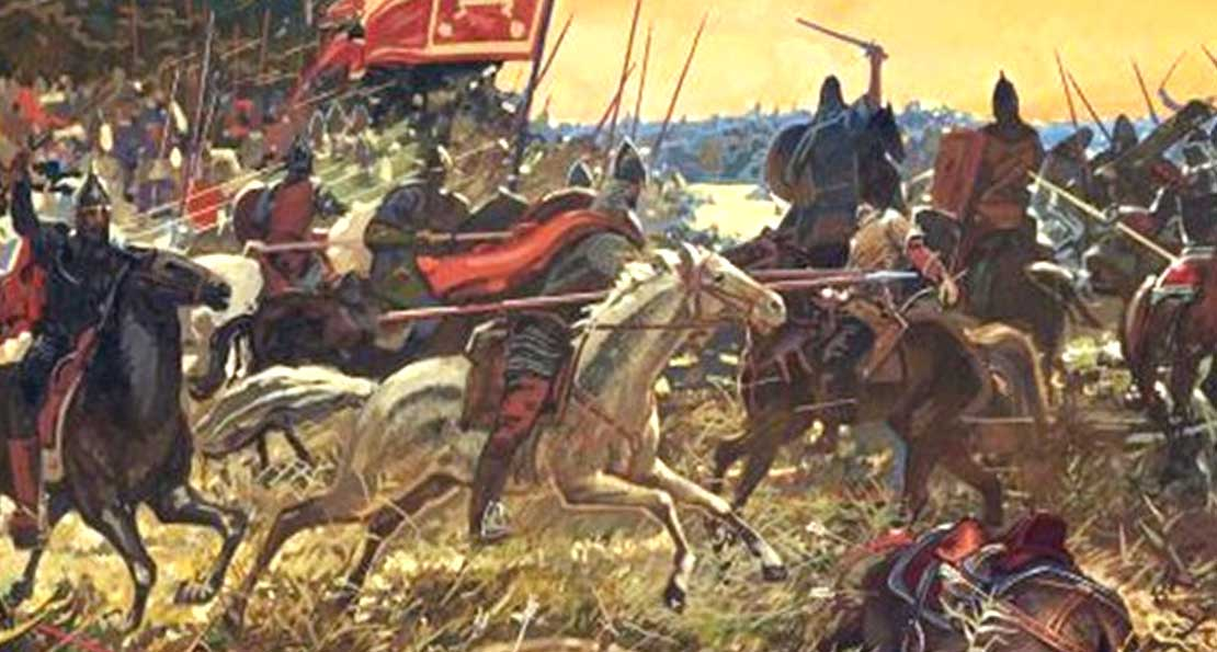 Атака конницы