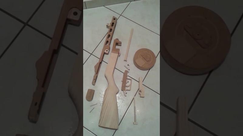 Tokarev svt-40 vs Mosin nagant m91 dragoon vs ppsh 41 wooden replica-Woodenguns.gr