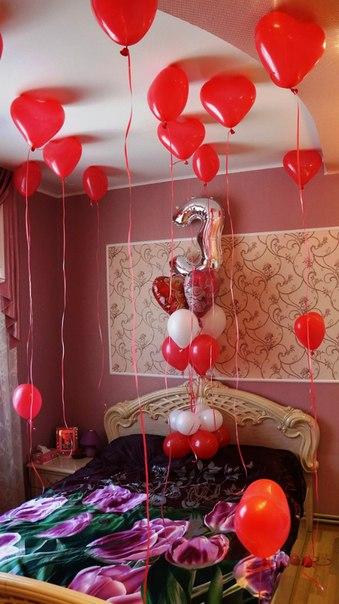 Как украсить комнату к годовщине свадьбы