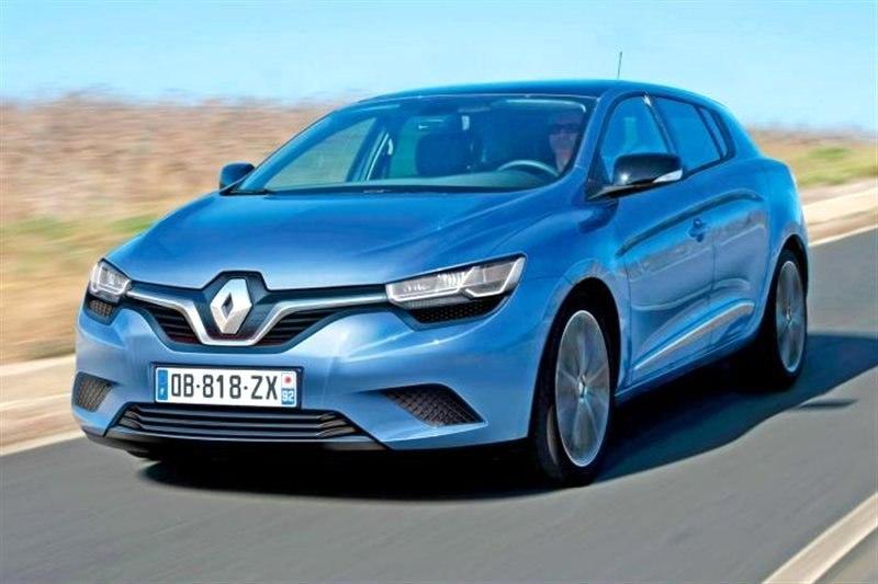 Новый Renault Megane покажут в сентябре