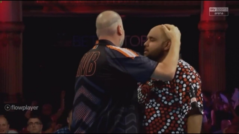 2018 World Matchplay Round 1 van Barneveld vs K.Anderson
