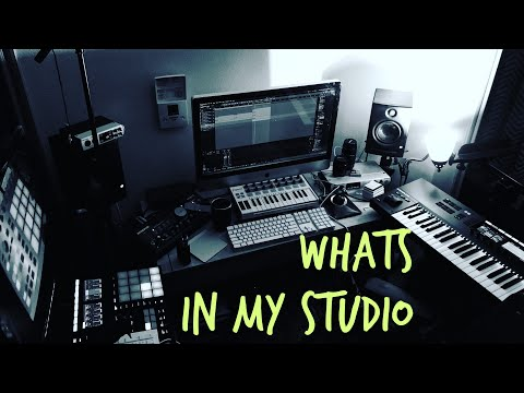 Studio Tour for Beat Makers