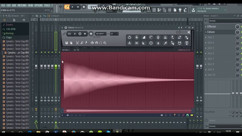 Как сделать 808 басс в Fl Studio 12   How to make 808 bass in Fl Studio 12