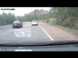 Автомобиль «призрак» устроил аварию