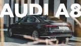 Тест-драйв новой Audi A8  Ваш выбор Она или BMW 7-Series  Mercedes-Benz S-Class Обзор новинки.