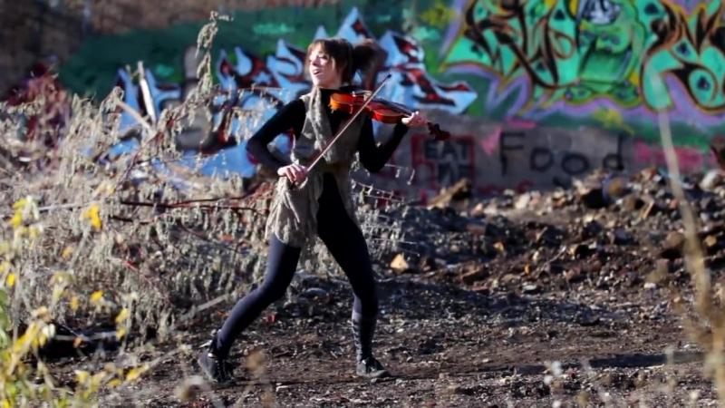 Юная скрипачка Ванесса Мэй просто нервн...ит смычок (720p).mp4